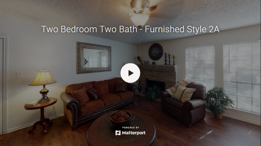 Two Bedroom Two Bath - Furnished Style 2A