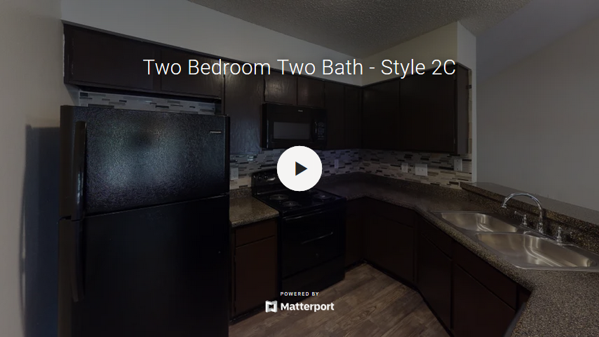 Two Bedroom Two Bath - Style 2C